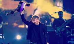 Ed Sheeran has broken the UK music charts