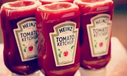 Ketchup should be stored in the fridge, apparently