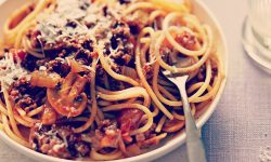 "Spaghetti Bolognese done the ""correct"" way"