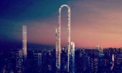 "New York's U-Shaped Skyscraper – ""The Big Bend"""