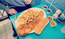 Chippy owner says he serves the UK's largest portion of Fish 'n Chips