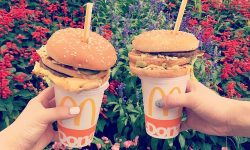 Sticking your Straw through a Cheeseburger is now a thing