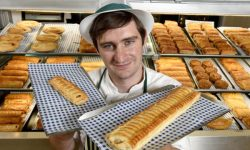 Morrions gives us their new foot long Sausage Rolls